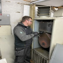 Domestic and industrial heaters serviced and maintained