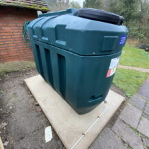 Replace an old single skinned tank with a new Bunded Oil Tank to comply with OFTEC regulations. We can also relocate any existing Bunded Oil Storage Tank.